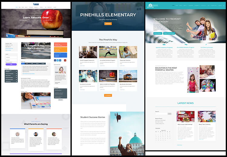 School Website Templates