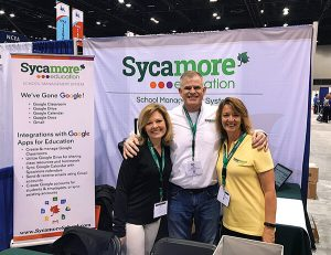 The Sycamore Team on Day One of NCEA 2019!