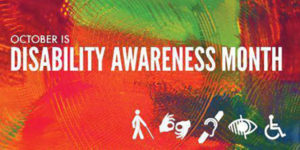 October Celebrates National Disability Awareness Month